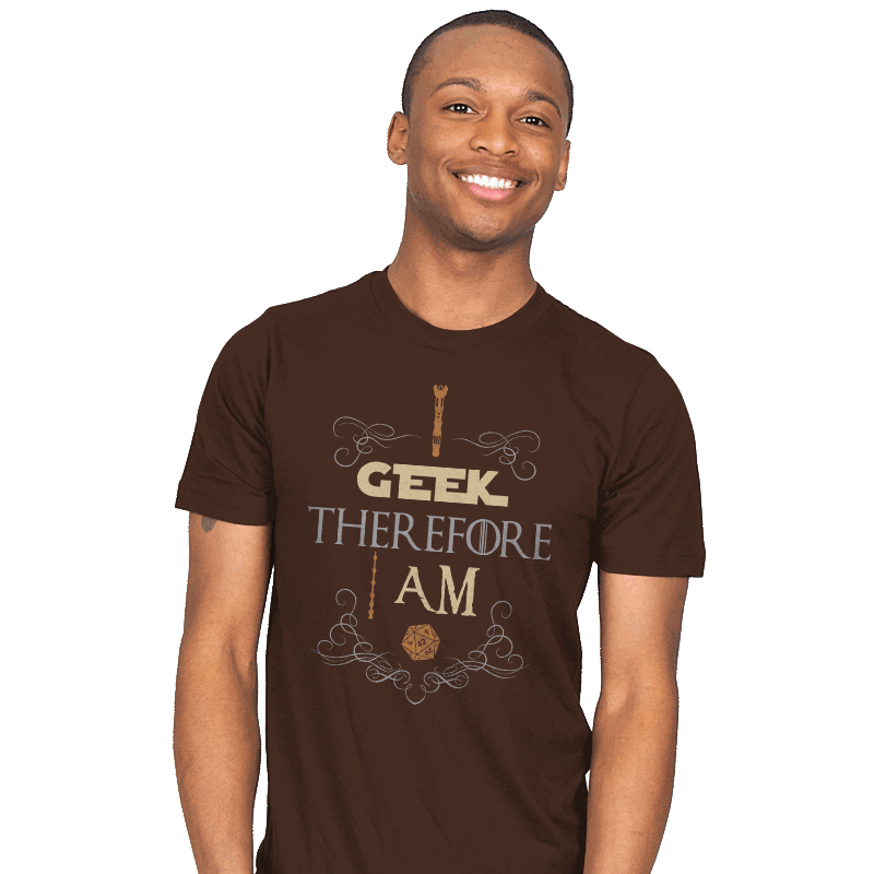 I Geek - Mens - T-Shirts - RIPT Apparel