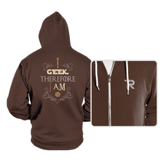 I Geek - Hoodies - Hoodies - RIPT Apparel