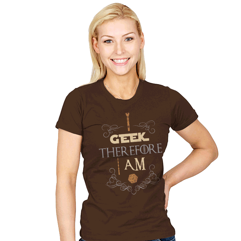 I Geek - Womens - T-Shirts - RIPT Apparel