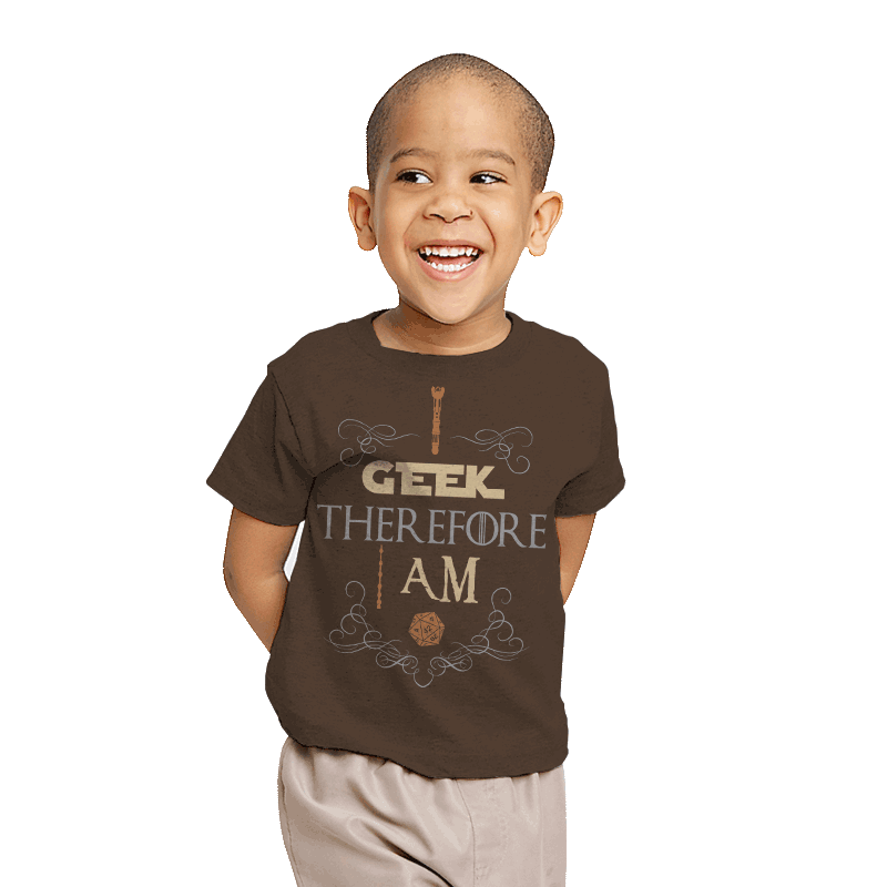 I Geek - Youth - T-Shirts - RIPT Apparel