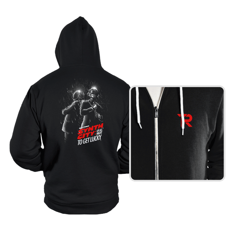 Synth City - Hoodies - Hoodies - RIPT Apparel