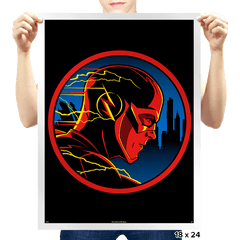 Hardboiled Speedster - Prints - Posters - RIPT Apparel