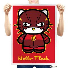 Fast Cat - Prints - Posters - RIPT Apparel