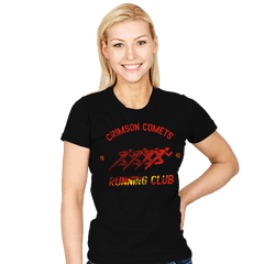 Crimson Comets - Womens - T-Shirts - RIPT Apparel
