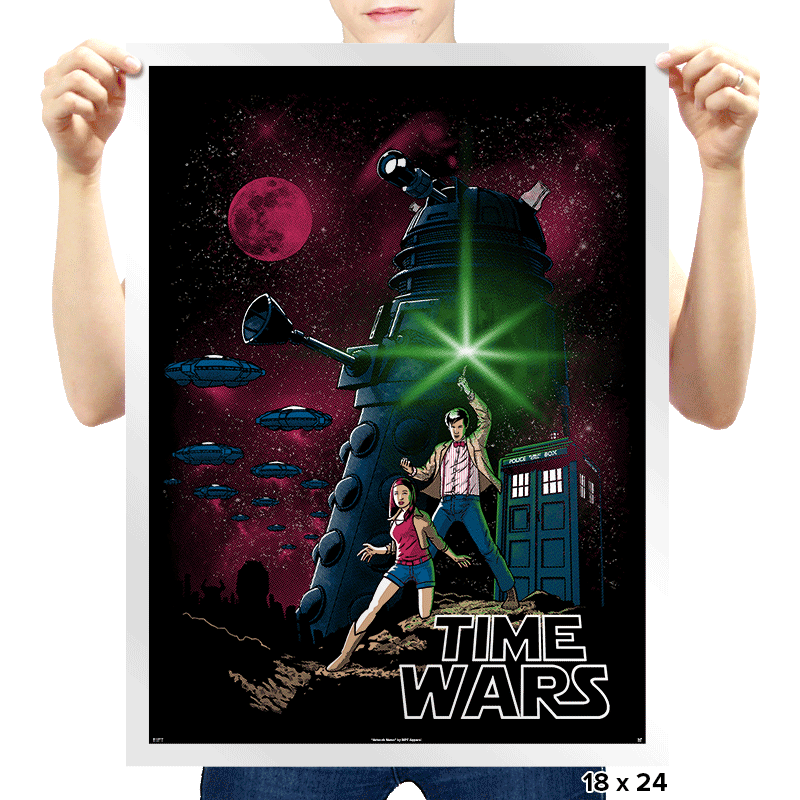 Time Wars - Prints - Posters - RIPT Apparel