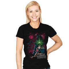 Time Wars - Womens - T-Shirts - RIPT Apparel