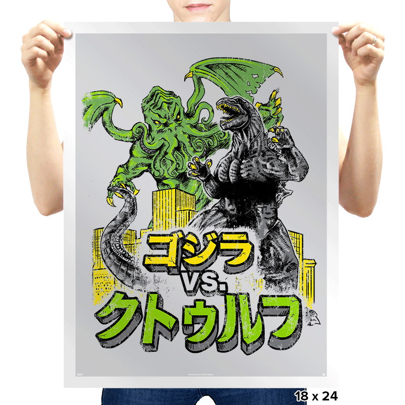 Clash of the Gods - Prints - Posters - RIPT Apparel