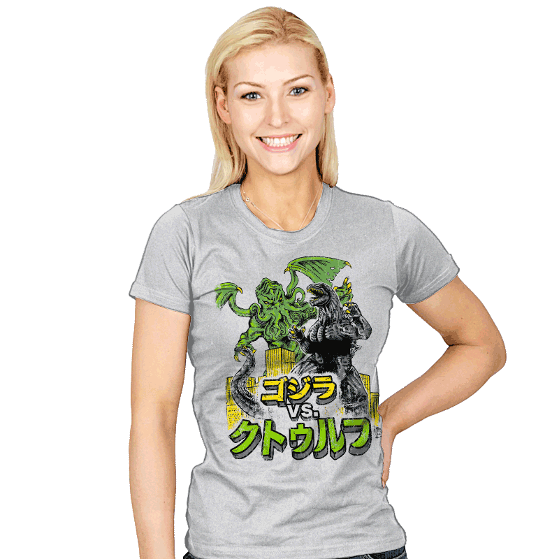 Clash of the Gods - Womens - T-Shirts - RIPT Apparel