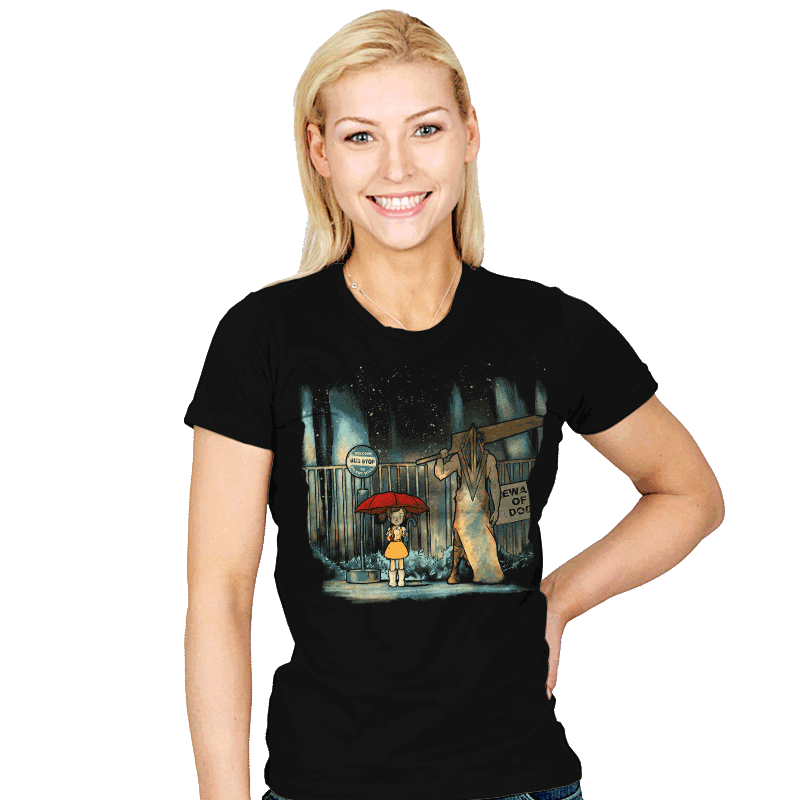 My Neighbor Pyramid - Womens - T-Shirts - RIPT Apparel