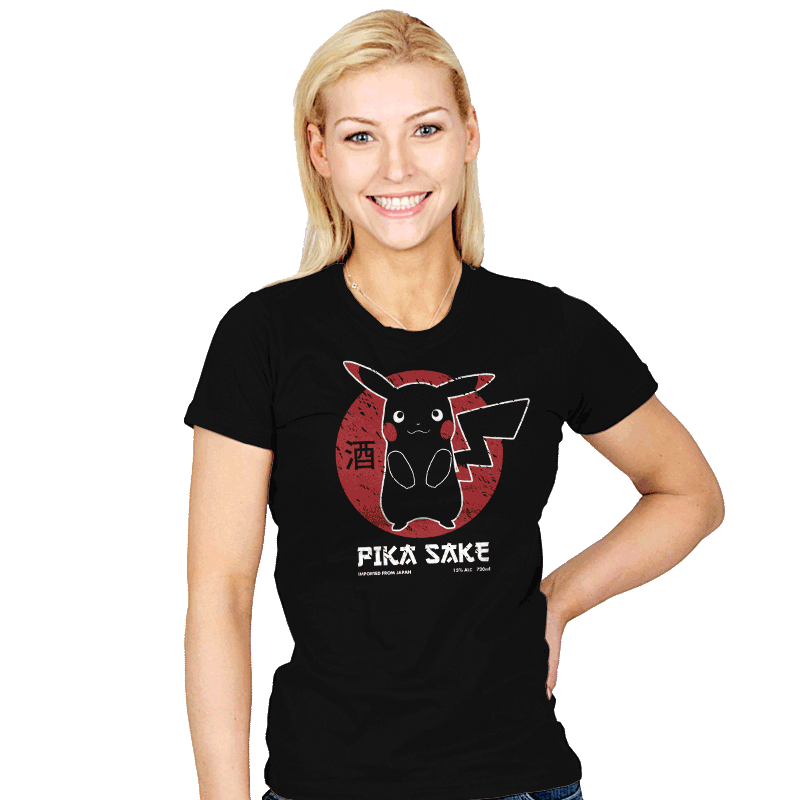Pika Sake - Womens - T-Shirts - RIPT Apparel