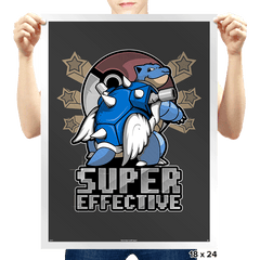 Super Effective  - Prints - Posters - RIPT Apparel