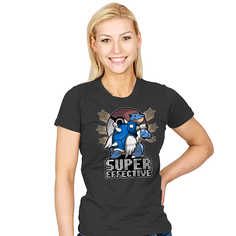 Super Effective  - Womens - T-Shirts - RIPT Apparel