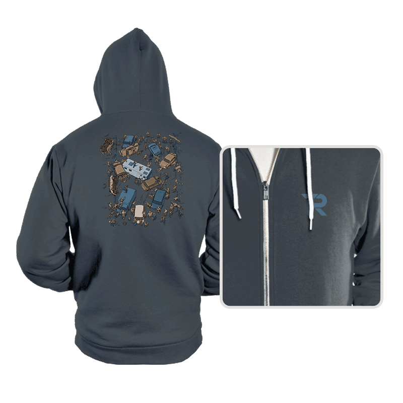 Survival Game - Hoodies - Hoodies - RIPT Apparel