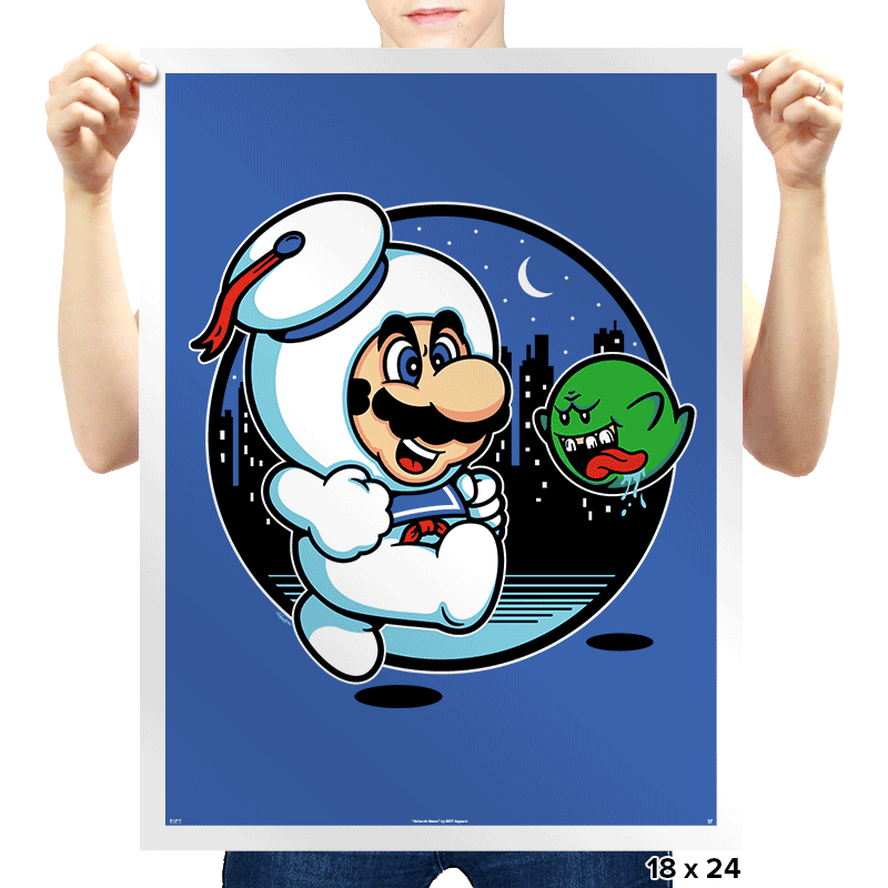 Super Marshmallow Bros. - Prints - Posters - RIPT Apparel