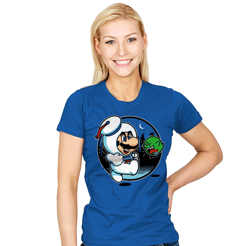 Super Marshmallow Bros. - Womens - T-Shirts - RIPT Apparel