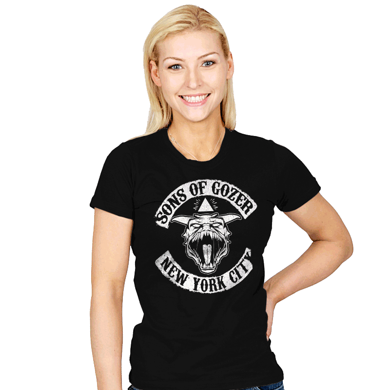 Sons Of Gozer - Womens - T-Shirts - RIPT Apparel