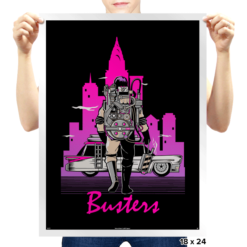 Busters - Prints - Posters - RIPT Apparel