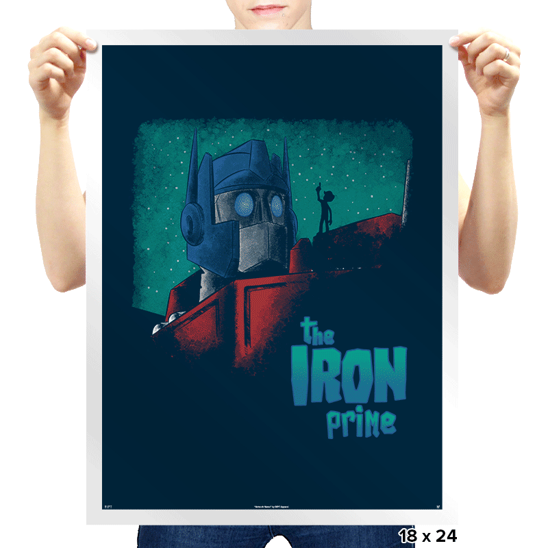 Iron Prime - Prints - Posters - RIPT Apparel