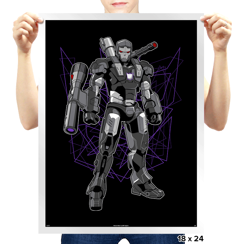 Mega Machine - Prints - Posters - RIPT Apparel