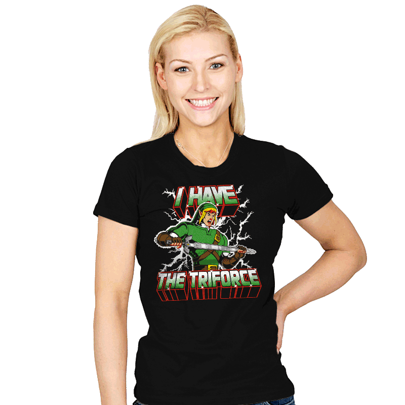 I Have the Triforce - Womens - T-Shirts - RIPT Apparel