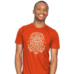 Mutant and Orange! - Mens - T-Shirts - RIPT Apparel