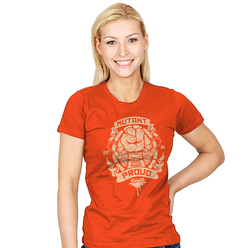 Mutant and Orange! - Womens - T-Shirts - RIPT Apparel