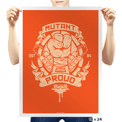 Mutant and Orange! - Prints - Posters - RIPT Apparel
