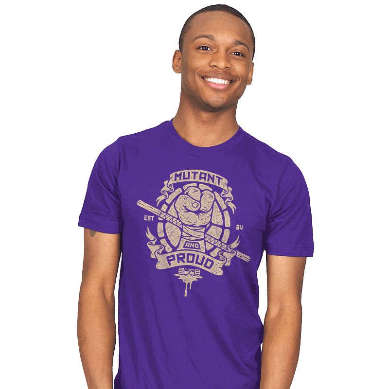 Purple and Proud! - Mens - T-Shirts - RIPT Apparel