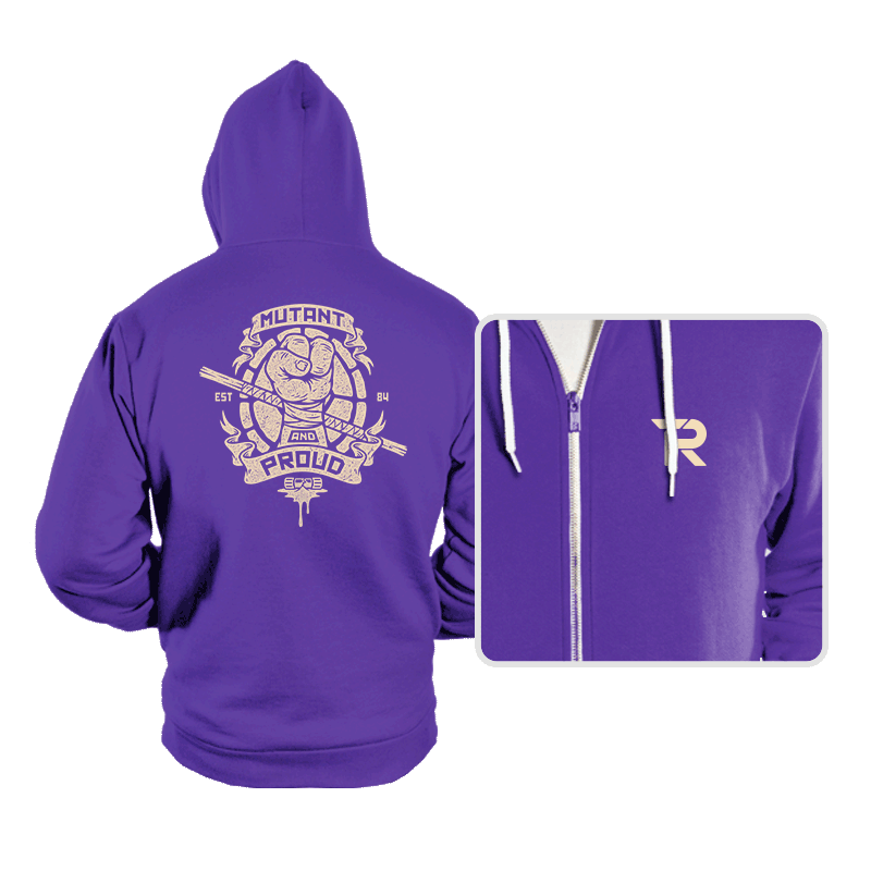 Purple and Proud! - Hoodies - Hoodies - RIPT Apparel