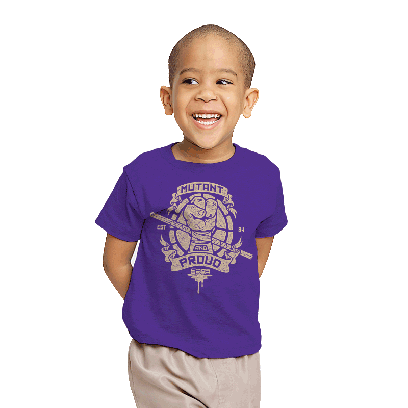 Purple and Proud! - Youth - T-Shirts - RIPT Apparel