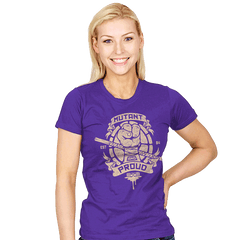Purple and Proud! - Womens - T-Shirts - RIPT Apparel