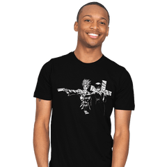 Trigun Fiction - Mens - T-Shirts - RIPT Apparel
