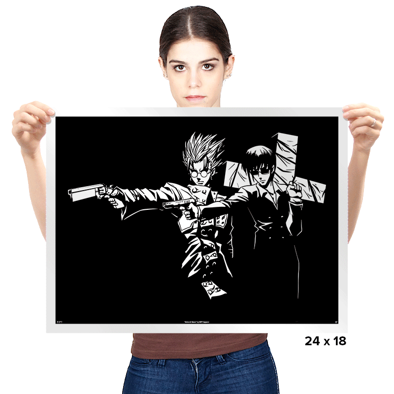Trigun Fiction - Prints - Posters - RIPT Apparel