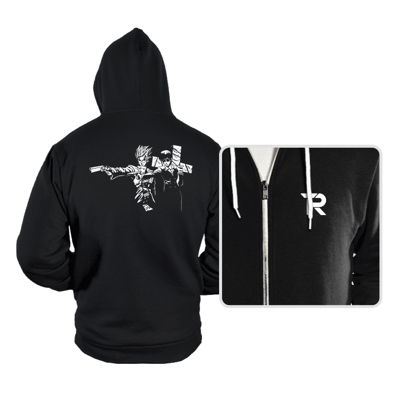 Trigun Fiction - Hoodies - Hoodies - RIPT Apparel