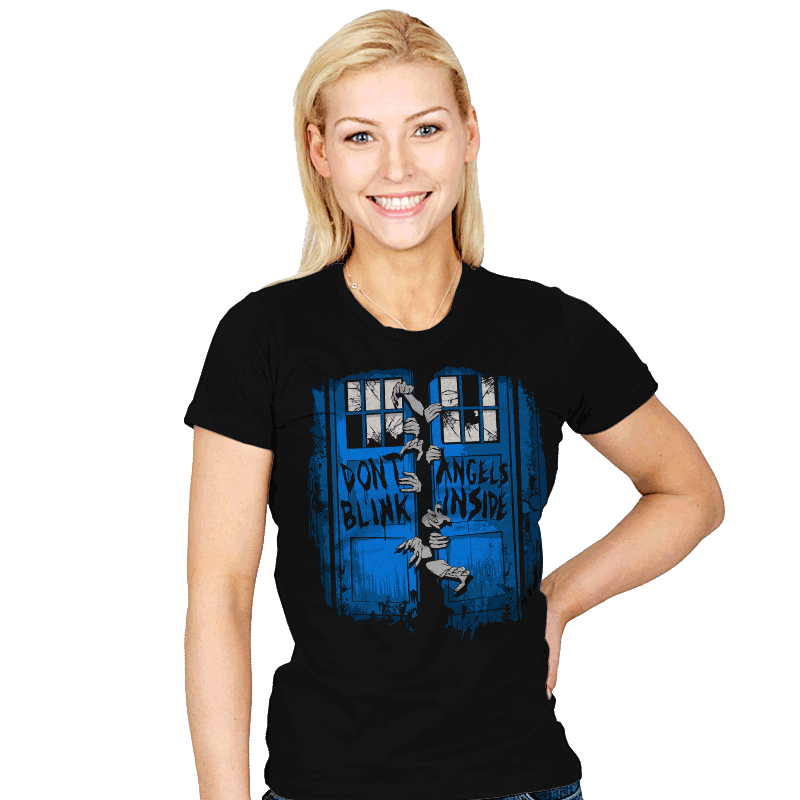 The Walking Angels - Womens - T-Shirts - RIPT Apparel