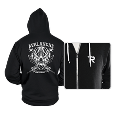 Avalanche University - Hoodies - Hoodies - RIPT Apparel