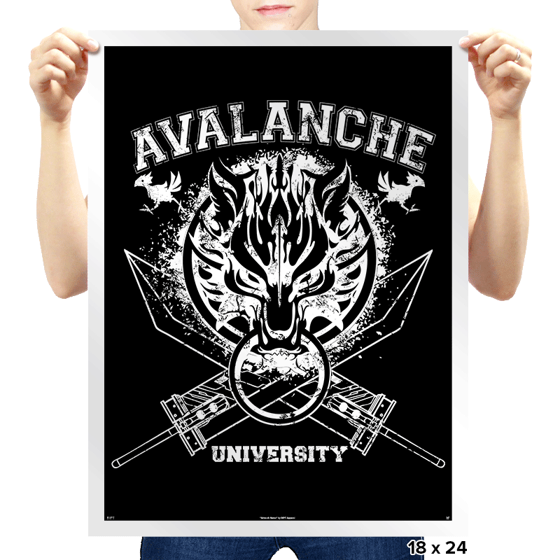Avalanche University - Prints - Posters - RIPT Apparel