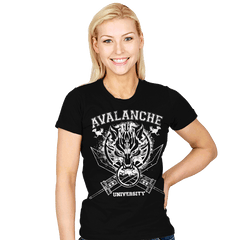 Avalanche University - Womens - T-Shirts - RIPT Apparel