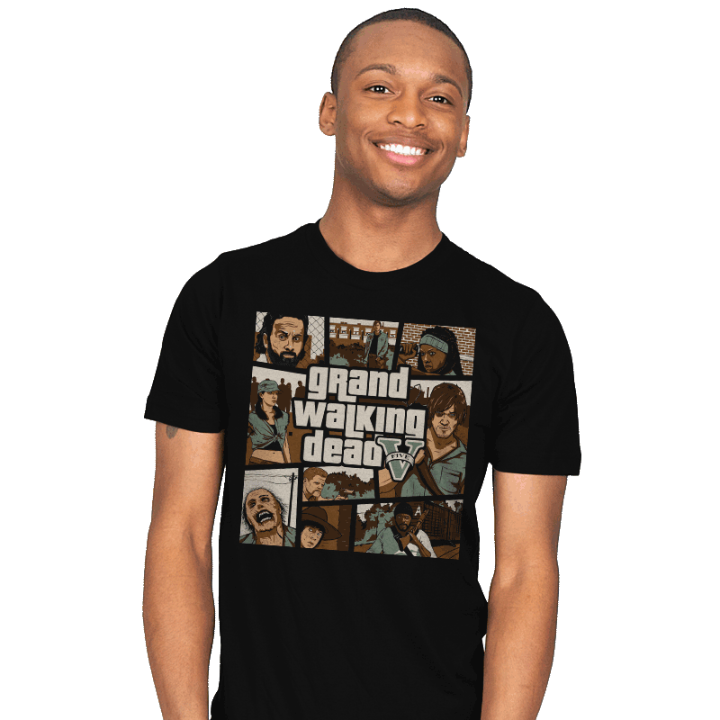 Grand Walking Dead - Mens - T-Shirts - RIPT Apparel