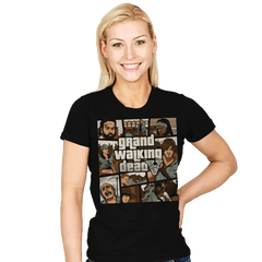 Grand Walking Dead - Womens - T-Shirts - RIPT Apparel