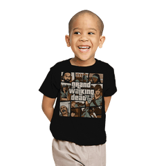 Grand Walking Dead - Youth - T-Shirts - RIPT Apparel