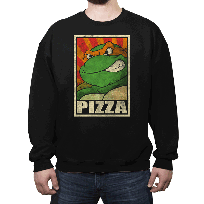 Pizza! - Crew Neck - Crew Neck - RIPT Apparel