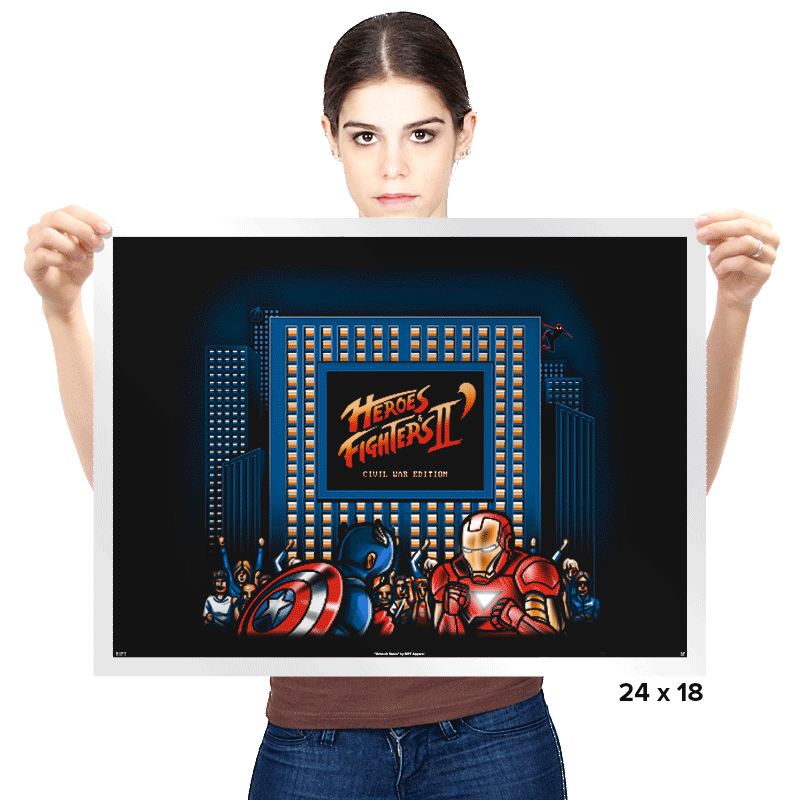 Heroes & Fighters II - Prints - Posters - RIPT Apparel