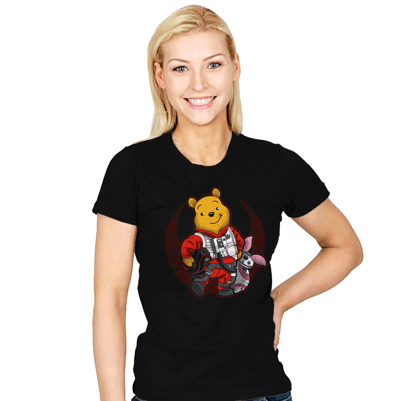 Pooh Dameron - Womens - T-Shirts - RIPT Apparel