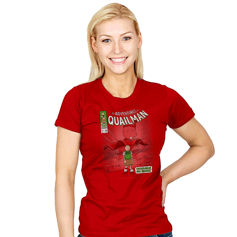 Quailman No More - Womens - T-Shirts - RIPT Apparel