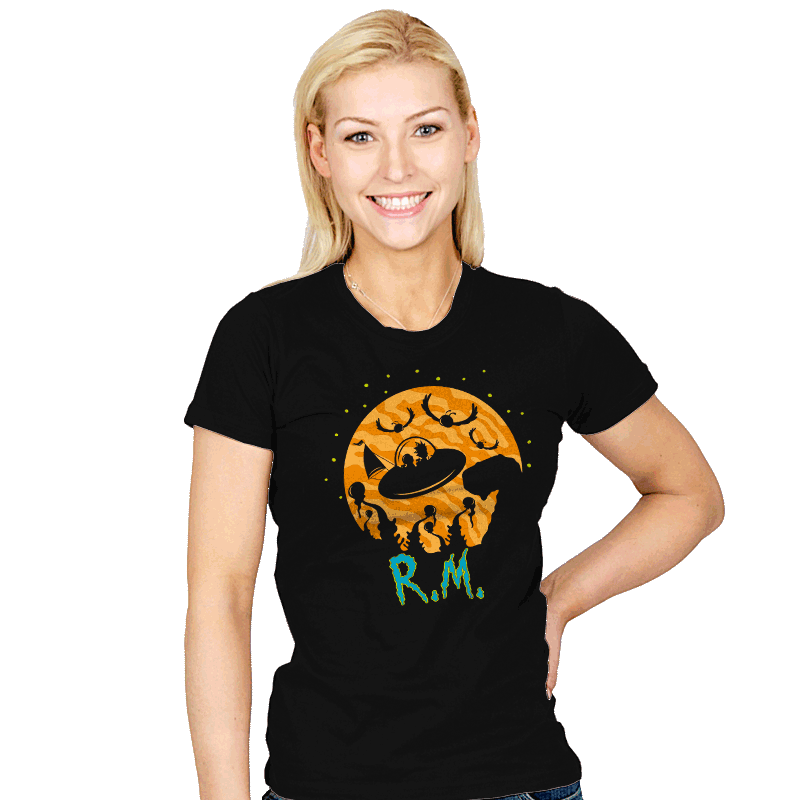 The Extraterrestrials - Womens - T-Shirts - RIPT Apparel