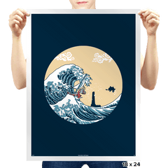 The Great Sea - Prints - Posters - RIPT Apparel
