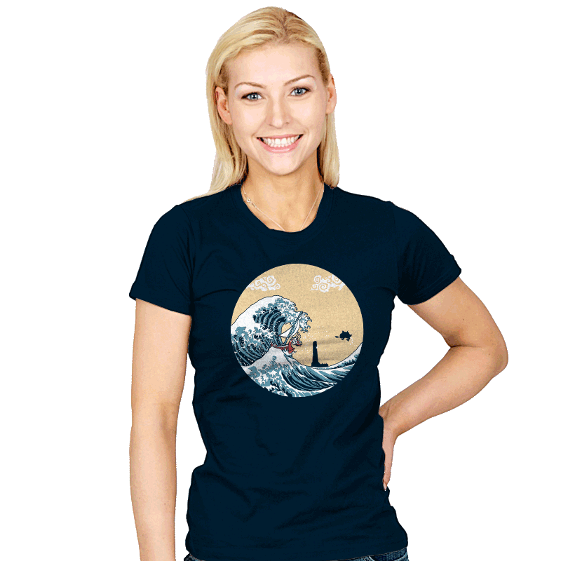 The Great Sea - Womens - T-Shirts - RIPT Apparel