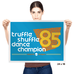 Dance Champ - Prints - Posters - RIPT Apparel