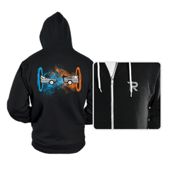 Back to the Portal - Hoodies - Hoodies - RIPT Apparel